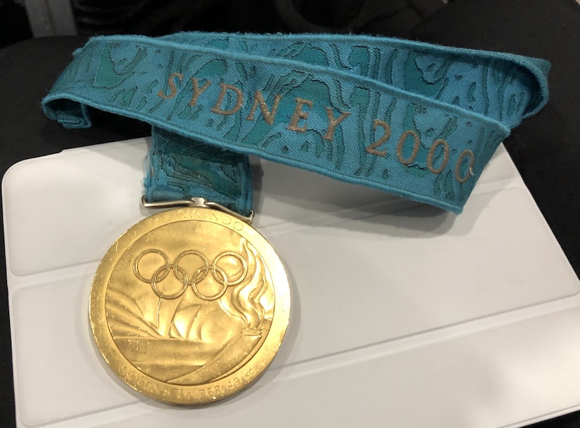 Lauren Burns Gold Medal